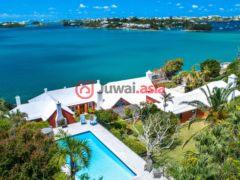 居外网在售百慕达4卧6卫的房产总占地2954平方米USD 3,650,000