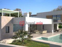 居外网在售西班牙5卧5卫的新建房产总占地1277平方米