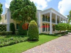 居外网在售美国棕榈滩4卧4卫的房产USD 16,900,000