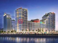 居外网在售越南3卧2卫的新建房产总占地52平方米