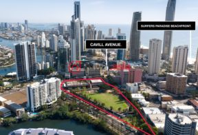居外网在售澳大利亚黄金海岸总占地18137平方米的商业地产