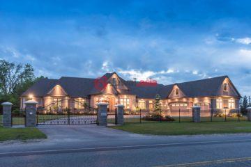 居外网在售加拿大6卧5卫特别设计建筑的房产总占地443平方米CAD 2,988,000