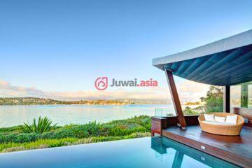 居外网在售澳大利亚5卧5卫特别设计建筑的房产总占地1040平方米