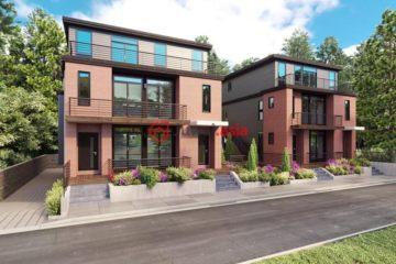 美国波士顿3卧3卫新房的房产