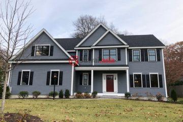 美国波士顿4卧3卫新房的房产