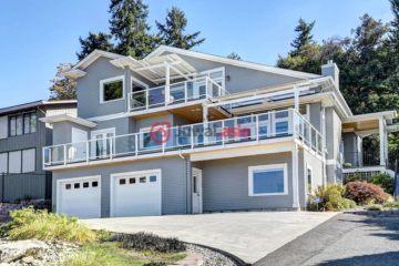 居外网在售美国柯克兰4卧3卫的房产总占地2661平方米USD 2,188,000
