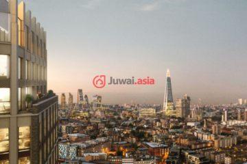 英国房产房价_英格兰房产房价_伦敦房产房价_居外网在售英国伦敦1卧1卫新房的房产总占地53平方米GBP 775,000
