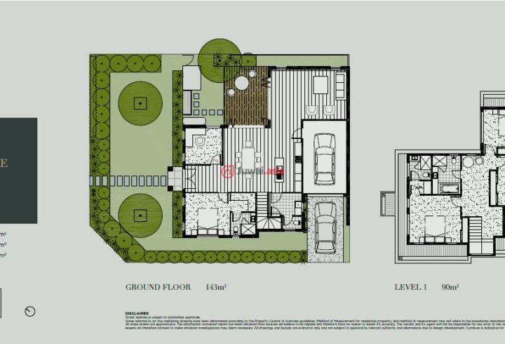 澳大利亚维多利亚州墨尔本的房产,1/192 Highbury Road,编号27990379