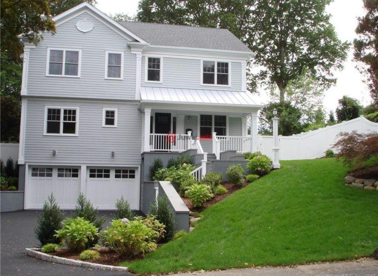 美国康涅狄格格林威治5卧5卫的园林别墅图纸cad房产图片